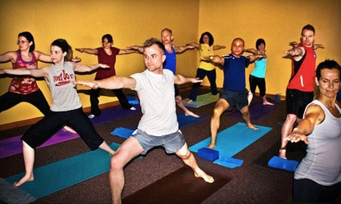 Evansville Power Yoga - Evansville: $35 for 10 Power-Yoga Classes at Evansville Power Yoga ($100 Value)
