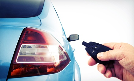 Car-Remote System with Installation at Auto Page (Up to 53% Off). Three Options Available.