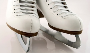 Ice Town: Open Skate with Rentals for Two or Four at IceTown (Up to 67% Off)