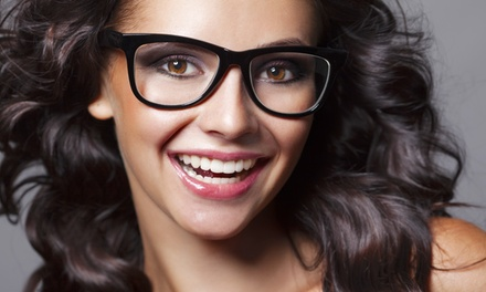 C$76 for Eye Exam, Contact Lenses, and Prescription Glasses at Image Optometry (Up to C$423.88 Value)