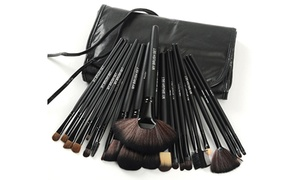 Makeup Brush Set with Vegan Leather Case (24-Piece) at Makeup Brush Set with Vegan Leather Case (24-Piece), plus 6.0% Cash Back from Ebates.