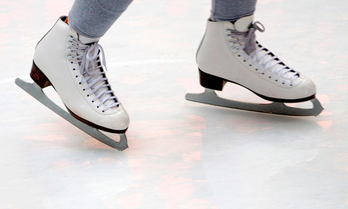 Midwest Training and Ice Center - Midwest Training and Ice Center: Open Skate with Skate Rental for Two or Four or Ice-Skating Lessons at Midwest Training and Ice Center (Up to 47% Off)