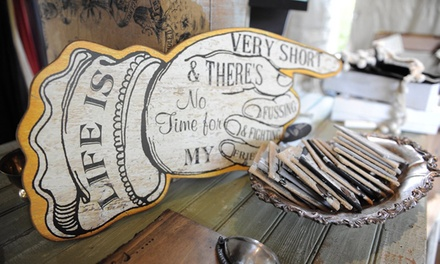 Admission to Vintage Market at The Grove for Two or Four People (Up to 47% Off)