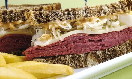 Irish Pub Food for Dine-In or Take-Out at O'Malley's In The Alley (Up to 45% Off)