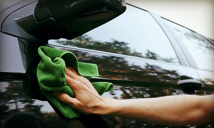 Rich's Car Wash - Thornhill: $25 for an Express Wax Detail Package with The Best Carwash and Hand Polish at Rich's Car Wash (Up to $50 Value)