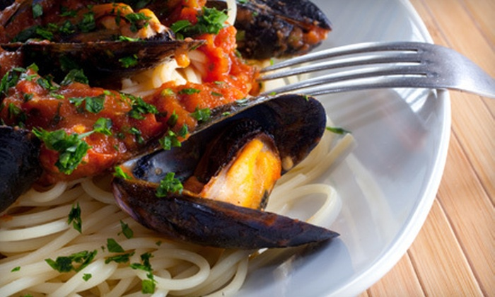 Luna Blu - Baltimore: Italian Cuisine at Luna Blu in Annapolis (Half Off). Two Options Available.