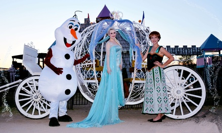 $40 for Winter Frozenland Festival for Two Kids and Two Adults at Charming Pony Parties ($70 Value)