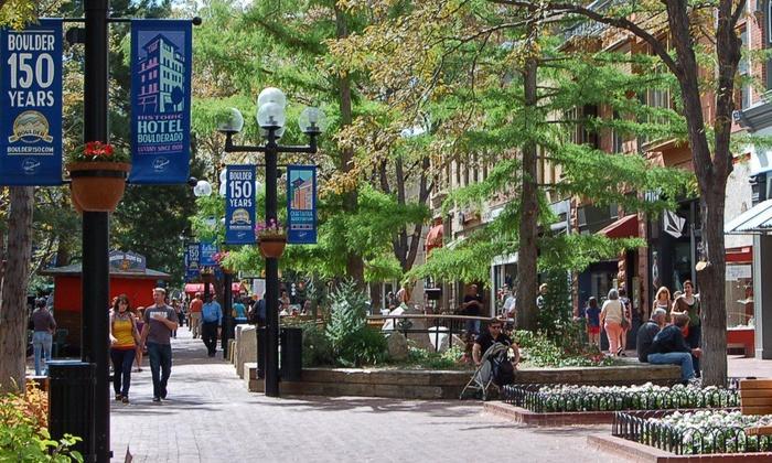 Boulder Walking Tours - Whittier: Walking Tour for Two or Four from Boulder Walking Tours (Up to $31 Off)