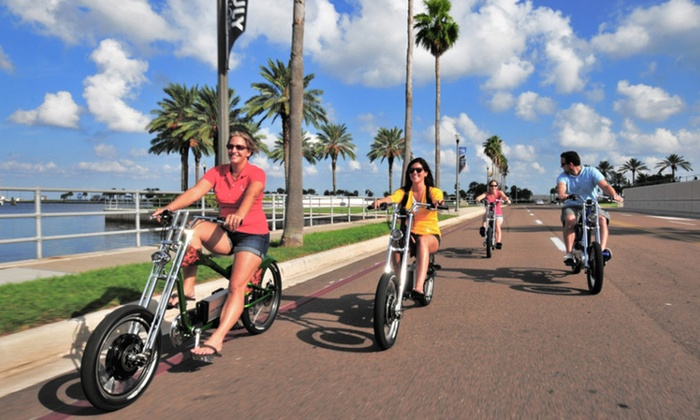 Rob's Radical Rides - Downtown St. Petersburg: 90-Minute E-Bike Tours of Downtown St. Petersburg for Two or Four from Rob's Radical Rides (Half Off)
