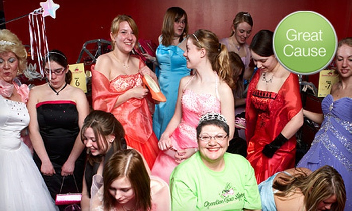 Donation for Prom Dresses - (Grassroots) Operation Glass Slipper ...