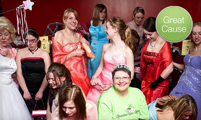 Operation Glass Slipper - Minneapolis / St Paul: $11 Donation for Prom Dresses