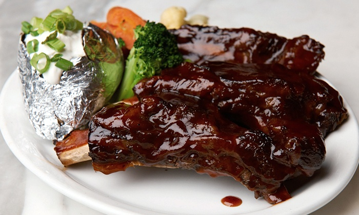 Cafe La Maze - National City: Classic Steak-House Food and Drinks for Lunch or Dinner at Cafe La Maze (45% Off)