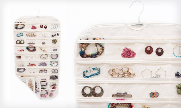 Up to 42 Off an 80Pocket Jewelry Organizer Groupon