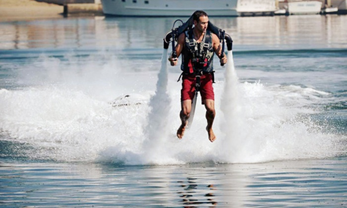 Tiki Jet - Islamorada, Village of Islands: 25-Minute Water-Powered Jetpack Adventure for One or Two at Tiki Jet (Up to 53% Off)