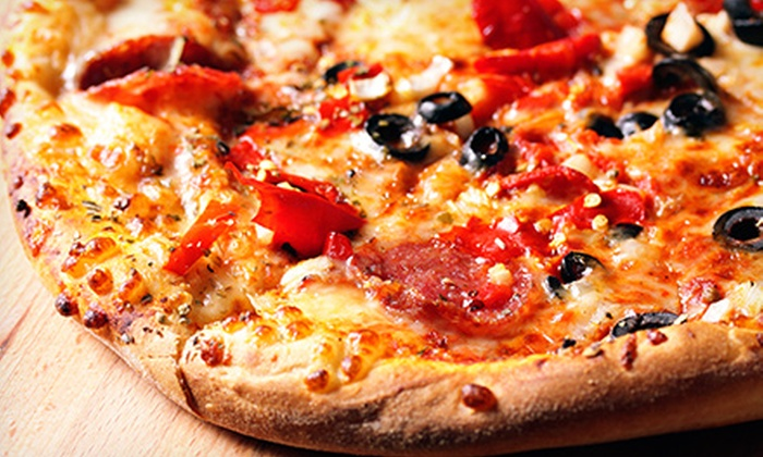 Take or Bake Pizza - Southern Oaks: $15 for a Pizza Meal for Four with Drinks at Take or Bake Pizza (Up to $32 Value)