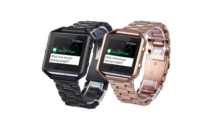Replacement Link Bracelet and Frame for Fitbit Blaze
