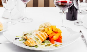 The Davenport: Two-Course Meal With a Glass of Wine and Live Show Entry For up to Eight People at The Davenport