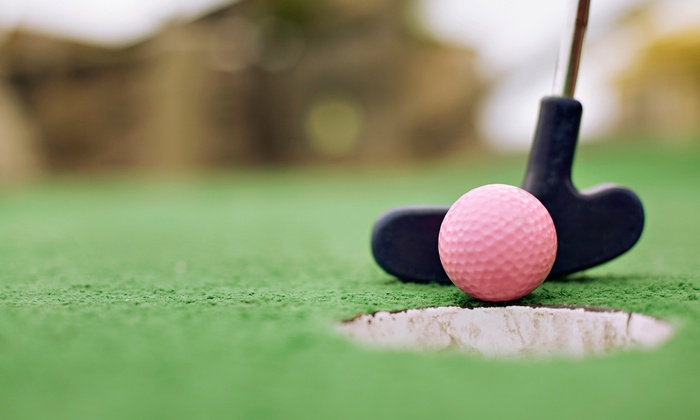 Paradise Fun Center - New Braunfels: Mini Golf and Soft Drinks for Two, Four, or Six at Paradise Fun Center (Up to 60% Off)