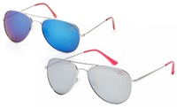 GROUPON: Betsey Johnson Aviator Sunglasses Betsey Johnson Aviator Sunglasses