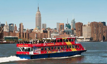[Ferry Tour and Museum Visit with or without Bus-Tour Package for One or Two from CitySights NY (Up to 24% Off) Image]