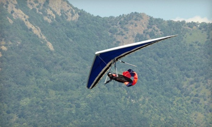 Susquehanna Flight Park - Cooperstown: Ultra Intro Hang-Gliding Lesson for One or Two at Susquehanna Flight Park (Up to 51% Off)