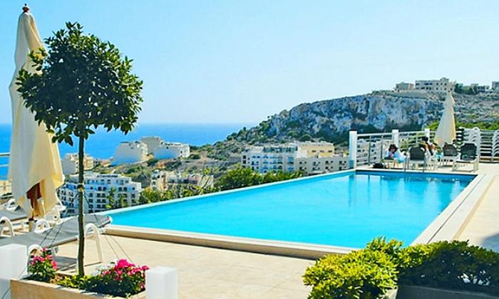 Moja Malta - Moja Malta: Malta: 4, 5 lub 8 dni dla 1 osoby ze śniadaniami, transferem z lotniska, ubezpieczeniem i więcej w Hotelu Panorama 3*