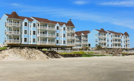 Stay at Seascape Resort Condos in Galveston, TX. Dates into May.