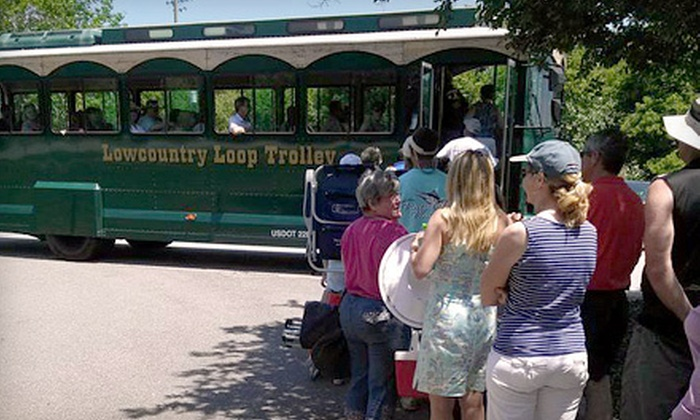 Lowcountry Loop Trolley - Mt Pleasant: One, Four, or Seven One-Day Trolley Passes from Lowcountry Loop Trolley (Up to 63% Off)