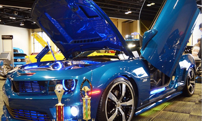 3rd Annual Indoor Custom Car Show & Expo Presented by Manteno Ford - Tinley Park: Visit for Two or Four Adults or Entry for One Vehicle to the 3rd Annual Indoor Custom Car Show & Expo (Up to 58% Off)