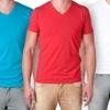 NLA Men's Premium Blend V-Neck Tees
