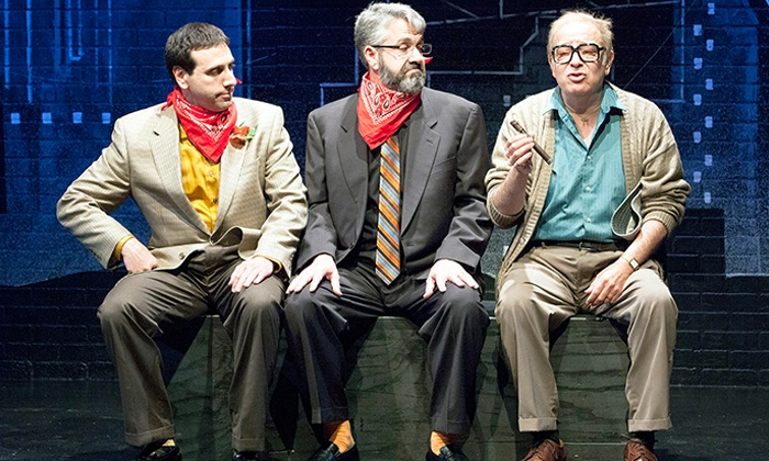 """""""Old Jews Telling Jokes"""" - Herberger Theater Center: """"Old Jews Telling Jokes"""" at Herberger Theater Center on March 19–22 (Up to 50% Off)"""