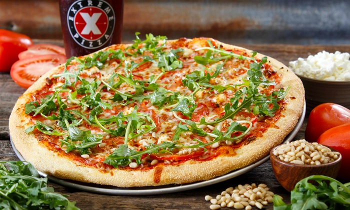 Extreme Pizza - VCU: One or Two Large Two-Topping Pizzas and Twisty Stix at Extreme Pizza (Up to 47% Off)