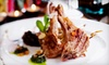 The Prune Restaurant - Stratford: Three-Course Gourmet Dinner with Wine Samplings for Two, Four, or Six at The Prune Restaurant in Stratford (Up to 60% Off)