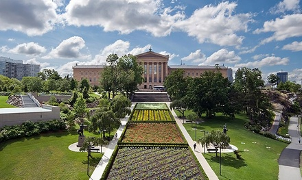 Admission for Two or Four to the Philadelphia Museum of Art (50% Off)