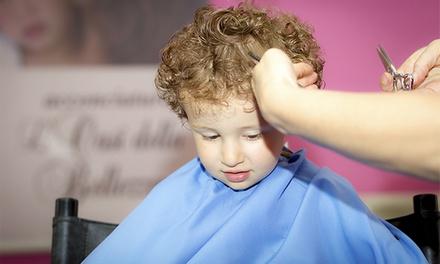 2 sesiones de peluquería para niños con lavado, desenredante, corte de pelo y secado por 7 €