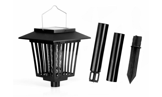 Solar Bug Zapper With Light Groupon