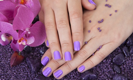 One or Two Groupons, Each Good for a Gel Manicure at Euronails (Up to 56% Off)