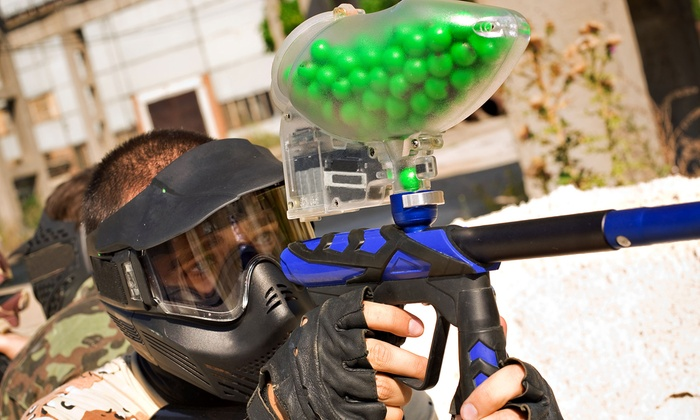 Warpaint International - War Paint International: All-Day Paintball Package for One or Four at Warpaint International (Up to 55% Off)