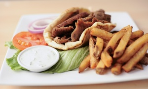 La Vie Mediterranean Cuisine: $9.60 for Two $7 Groupons for Fast-Casual Mediterranean Food at La Vie Mediterranean Cuisine ($14 Value)