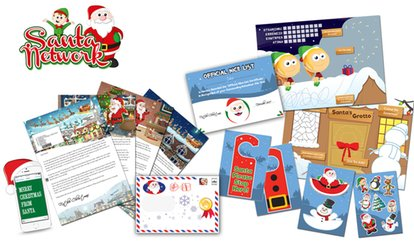 image for Personalised Santa Claus Letter with an Optional Activity Pack from Santa Letter Direct (Up to 53% Off)