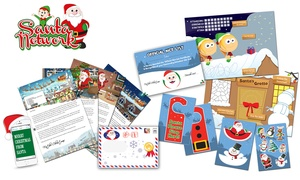 Santa Letter Direct: Personalised Santa Claus Letter ($3.90) with Optional Activity Pack ($4.90) from Santa Letter Direct - Up to 78% Off
