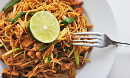Asian-Fusion Cuisine and Drinks at Chin Dian Café  (Up to 50% Off). Three Options Available