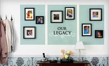 $25 Worth of Custom Vinyl Wall Decals and Gifts - Lacy Bella Designs in