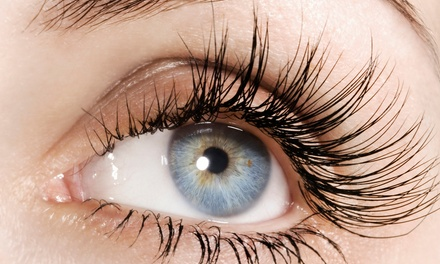Eyelash Extensions with Optional Touchup at Envi Salon WP (Up to 56% Off)