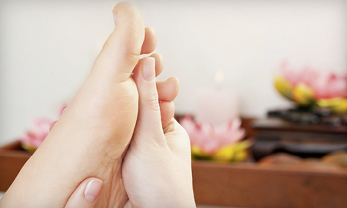 Healthy Foot Spa - Chinatown - Leather District: 60-Minute, 90-Minute, or Couples 90-Minute Reflexology and Bodywork Session at Healthy Foot Spa (Up to 57% Off)