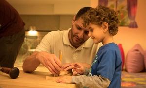חברותא הבית להורים וילדים בנס ציונה: זמן איכות מהנה עם הילדים: סדנת נגרות להורה ולילד ב-50 ₪ למפגש או ב-215 ₪ לסדנא מלאה בת 5 מפגשים! בכל שיעור מכינים מוצר לקחת הביתה