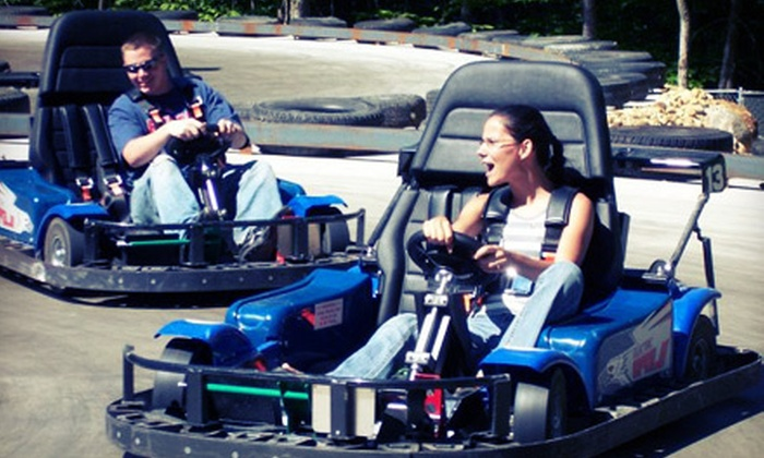 Chucksters - Chichester: $12 for Five Go-Kart Races at Chuckster's in Chichester (Up to $25 Value)