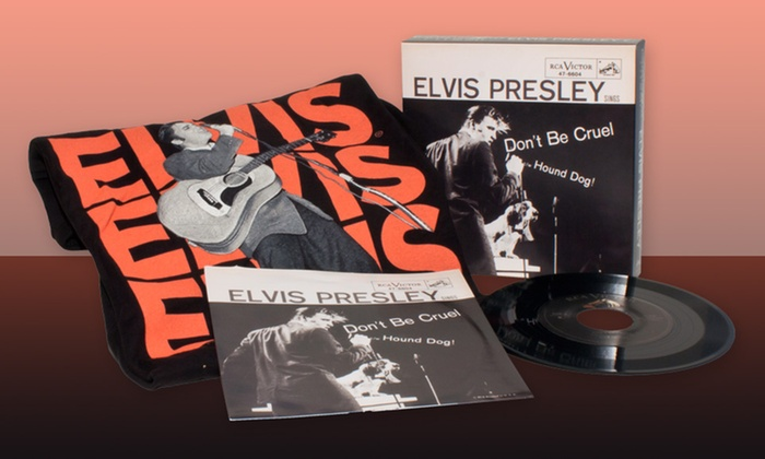 Threads & Grooves Elvis Presley Collector's Box: Threads & Grooves Elvis Presley Collector's Box