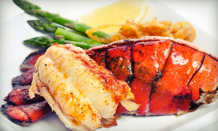 The Point Neighborhood Pub - Port Moody: Lobster or Po'Boy Sandwiches or Fresh Seafood at The Point Neighborhood Pub (Half Off)