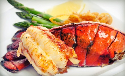 Lobster or Po'Boy Sandwiches or Fresh Seafood at The Point Neighborhood Pub (Half Off)